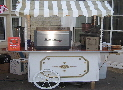 Victorian style catering cart for hire