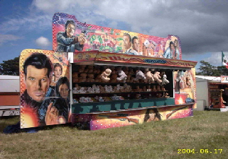One of our large shooting gallery units, perfect for high volume events.